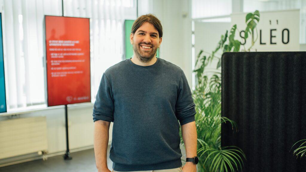 Team Foto von Software Entwickler Ramón Müller