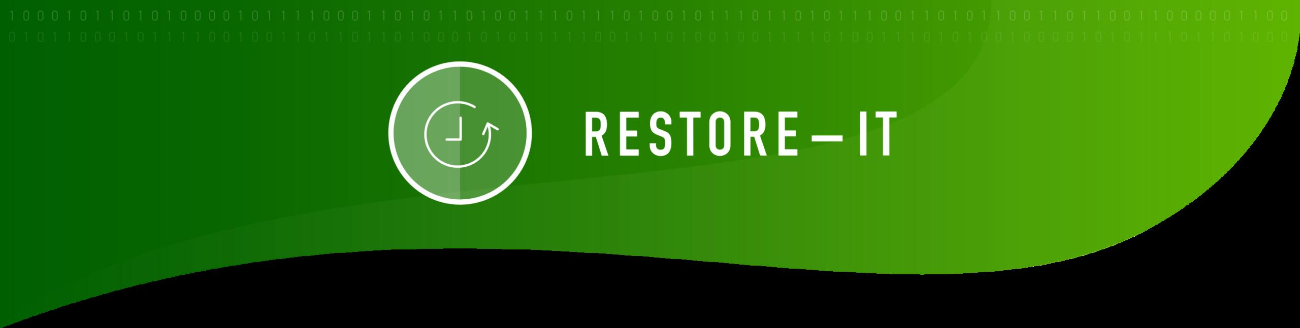 Sileo RESTORE-IT Produktbanner